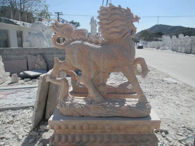石雕麒麟 (11)