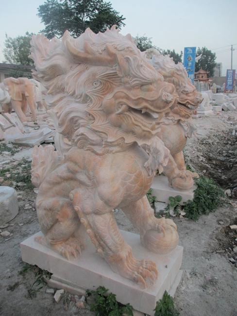 石雕麒麟 (10)