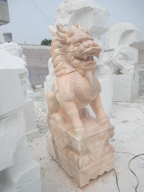 石雕麒麟 (7)