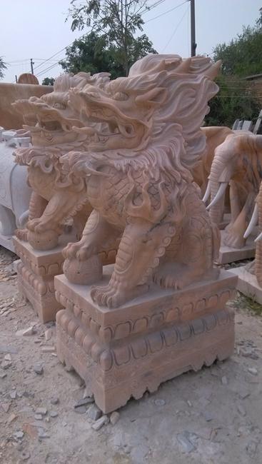 石雕麒麟 (2)