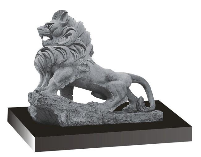 欧式狮子 (2)