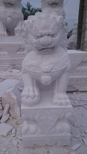 汉白玉石狮子 (13)